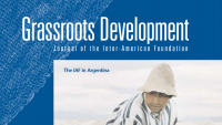 cropped image of the 2003 interamerican foundation's grassroots journal