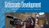 Cropped image of the cover of the Inter-American Foundation's 2010 Grassroots Development Journal