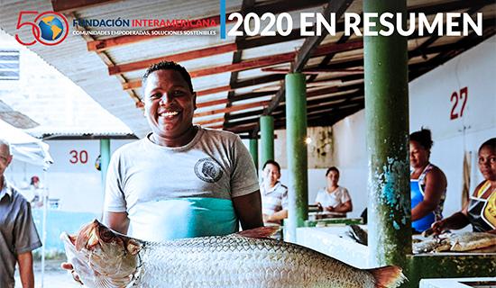 Portada del informe 2020 en Resumen
