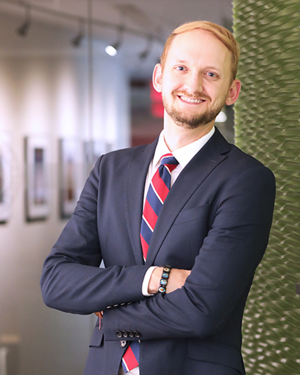 Profile photo of Christopher Wahoff in the IAF office